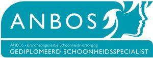 logo schoonheidsspecialiste brancheorganisatie Anbos